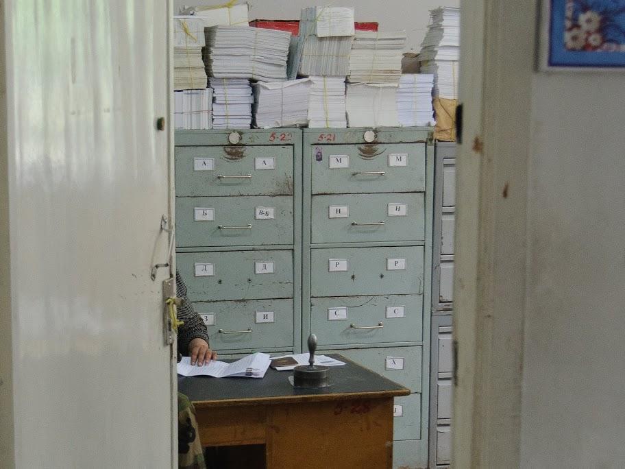 паспортний стіл в Таджикистані