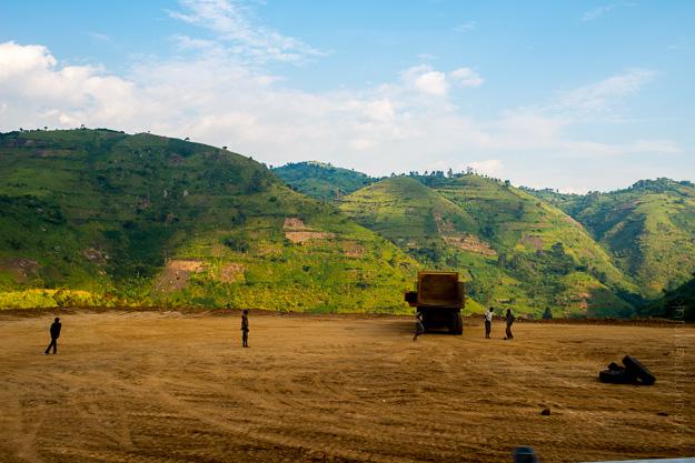 Африка Уганда гори Руензорі  Рвензорі