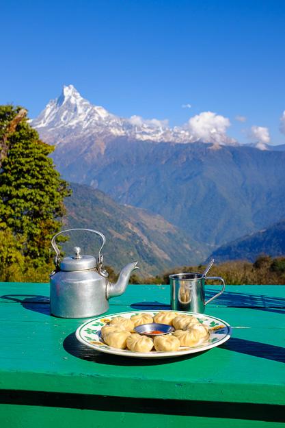 Непал їжа момо