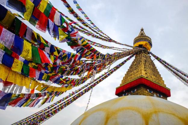 Непал, Катманду. Боднатх, Боудданатх, Боддінат, Боуда