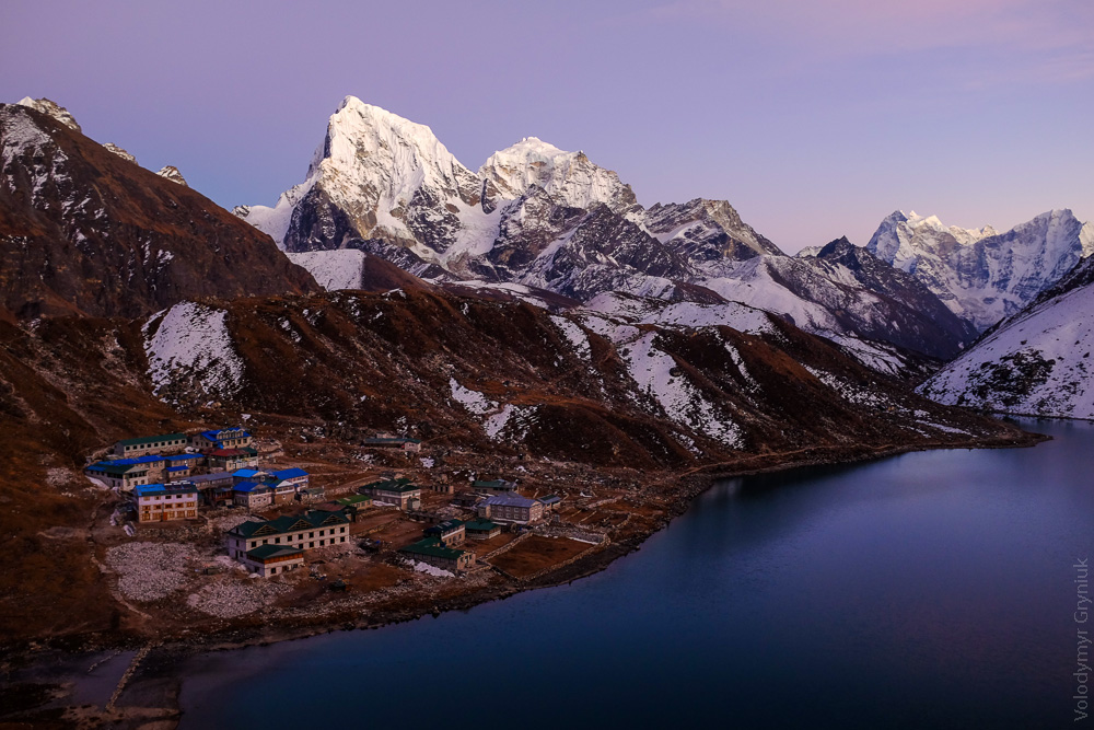 Трек до озер Гокіо. Непал.