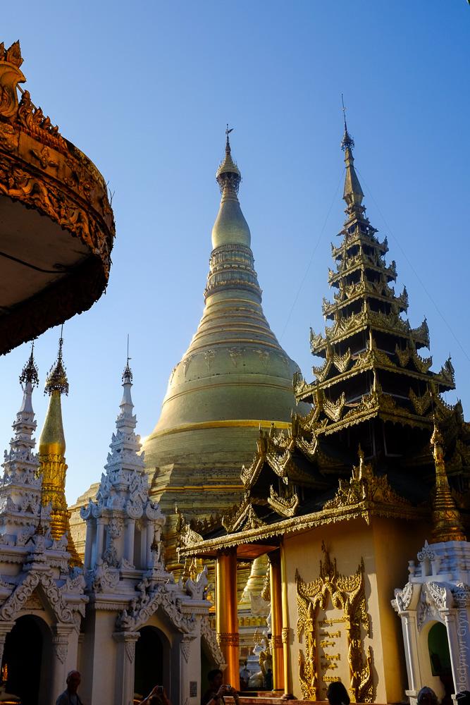 Бірма М'янма Янгон.