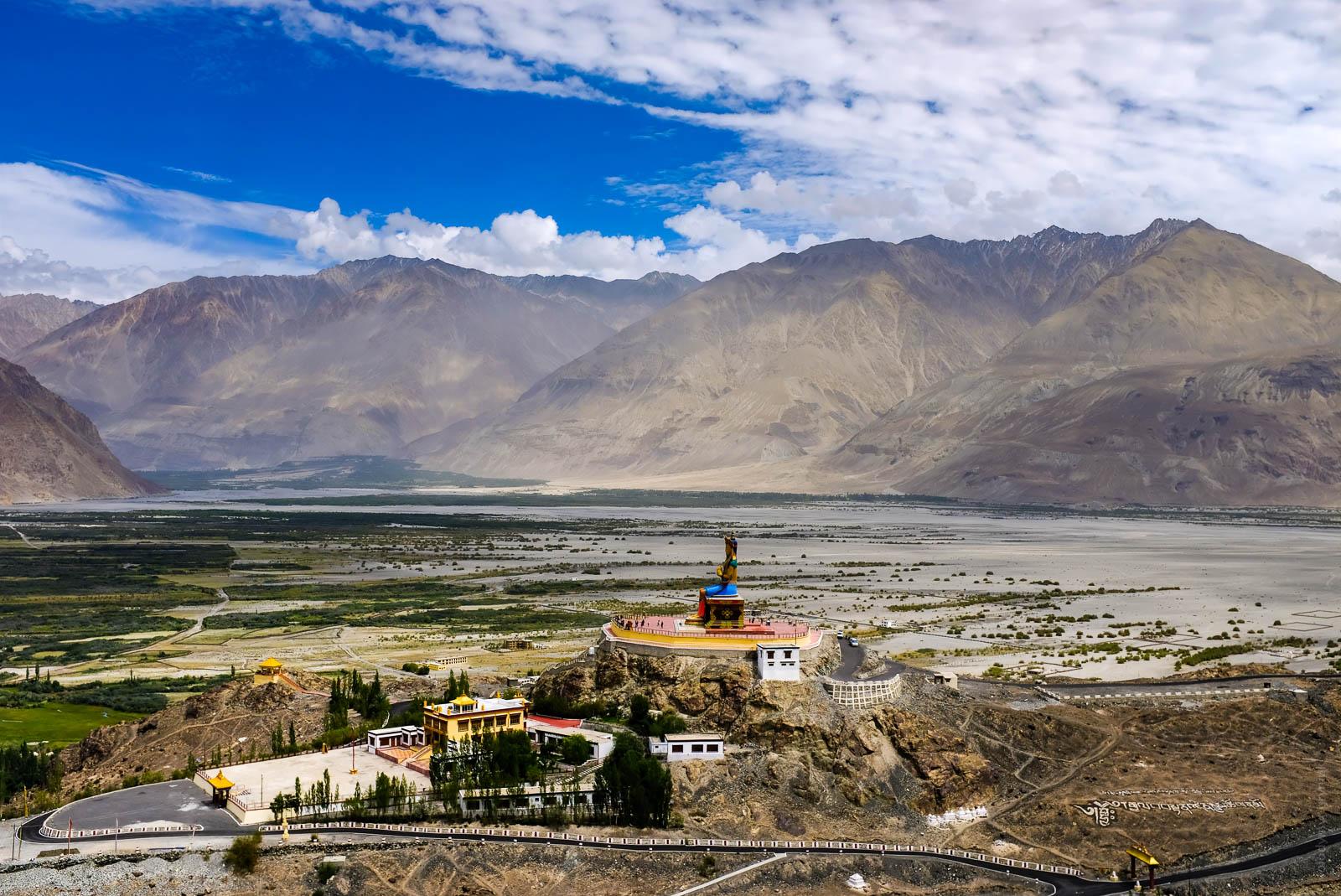 Монастир Діскіт Diskit Ладакх