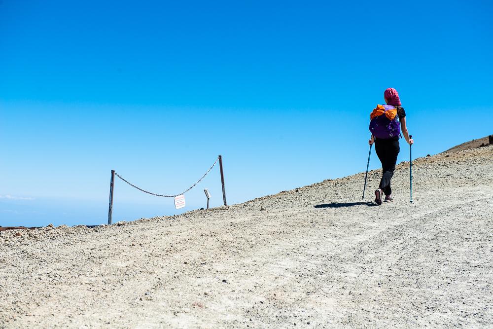 вулкан Тейде, сходження