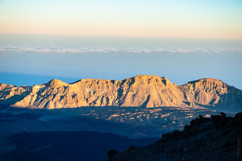 кратер старого вулкану. Національний парк Тейде