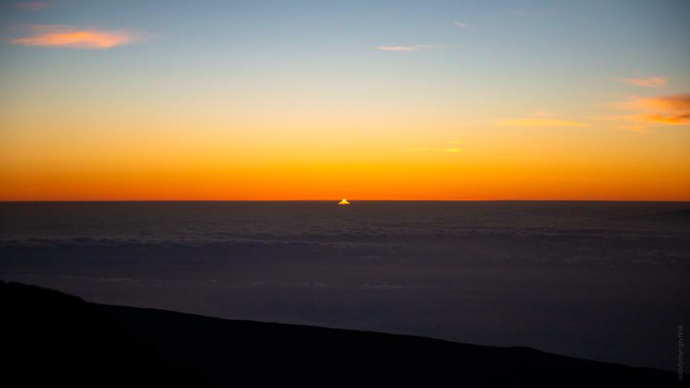 схід сонця, Канари