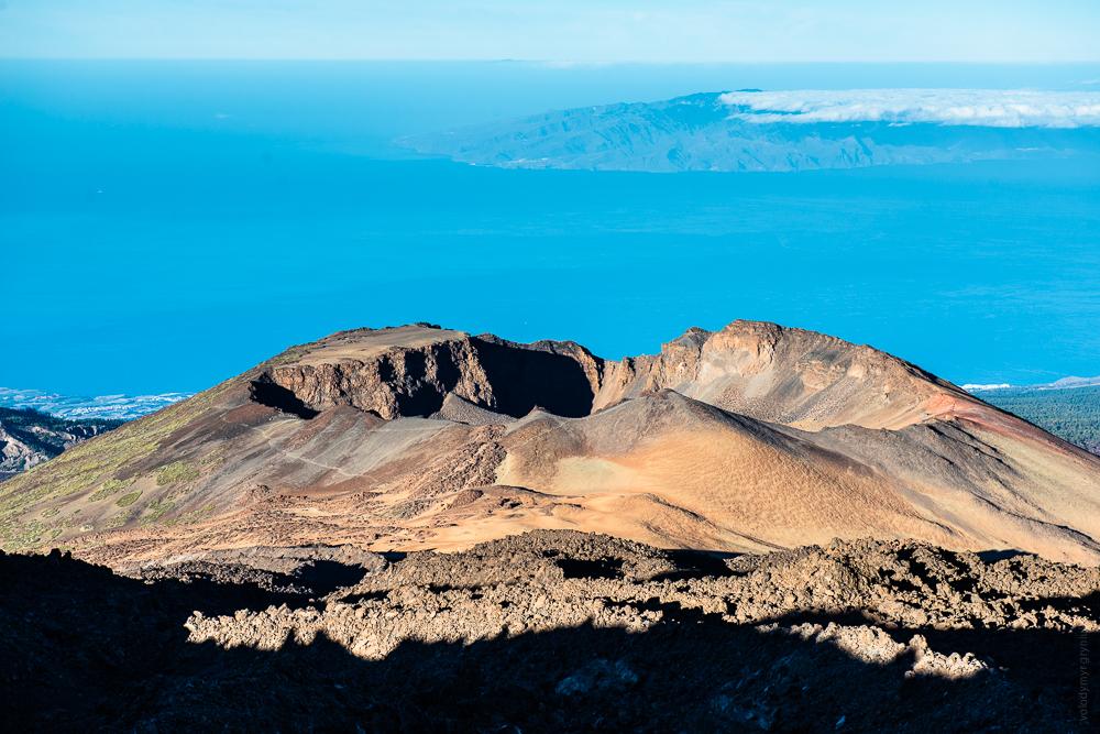 Вулкан Піко Вієхо, національний парк Тейде
