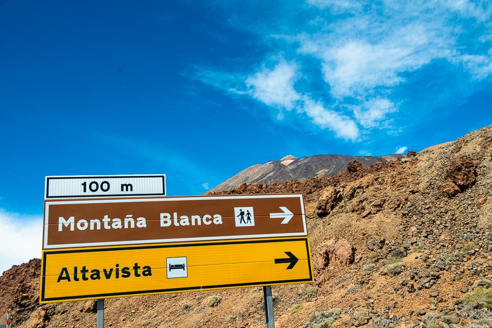 дорога до притулку Альтавіста, перед вершиною Тейде