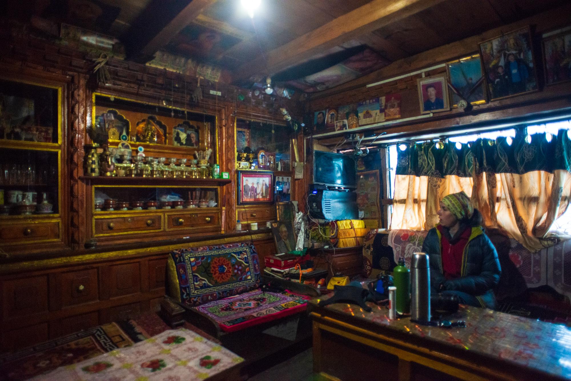 традиційний тибетський будинок