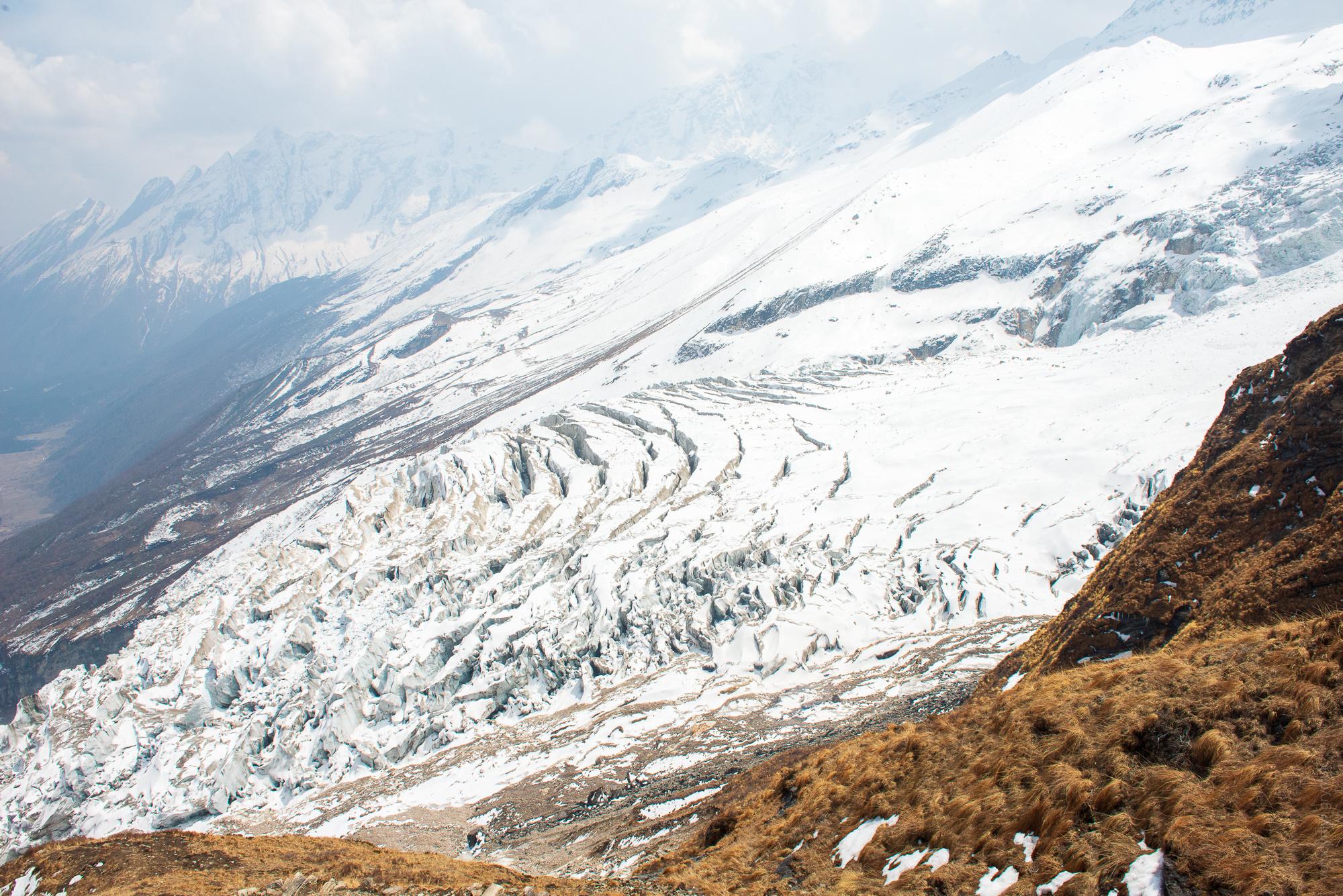 Льодовик Манаслу Непал