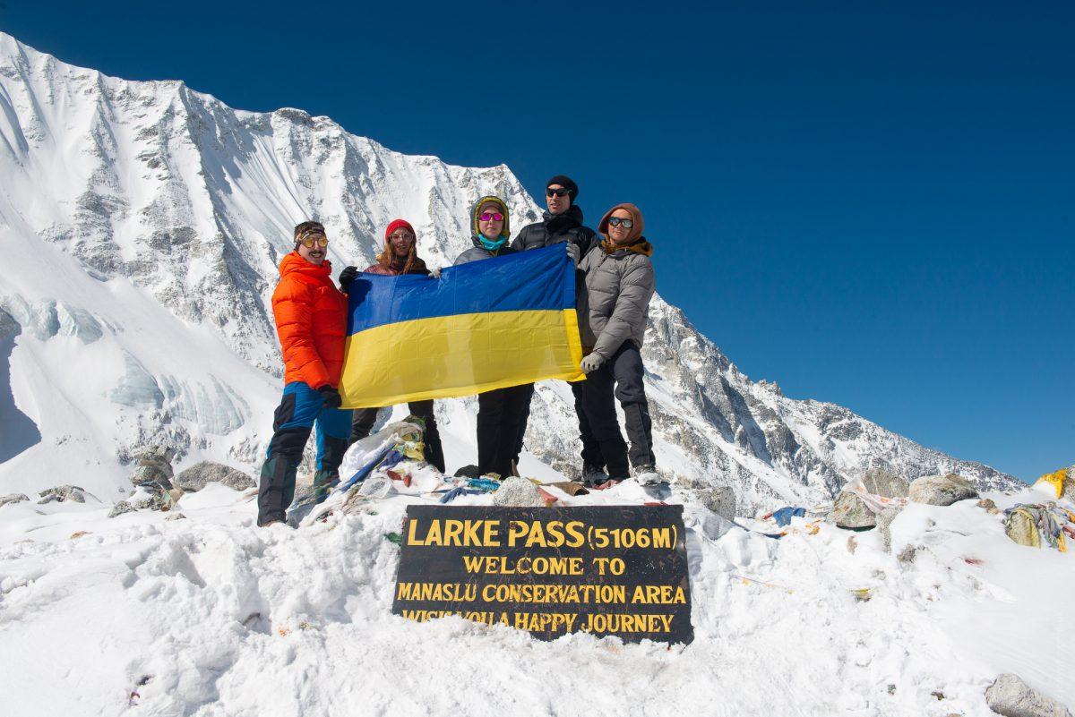 Manaslu trek Larke Pass