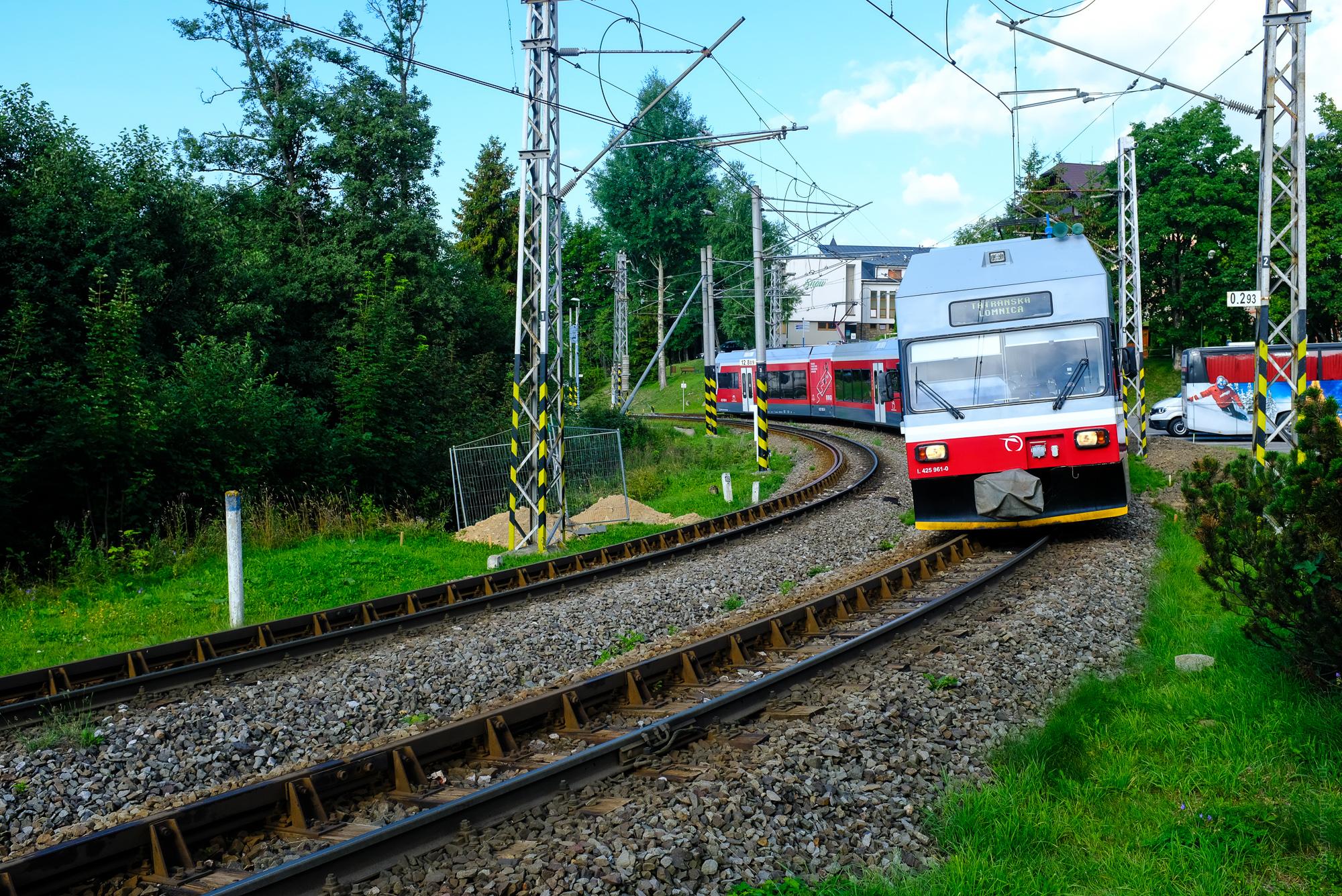Татранська Магістраль Поїзд